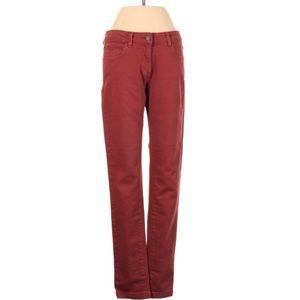 Henri Lloyd brick color straight legs jeans 27R
